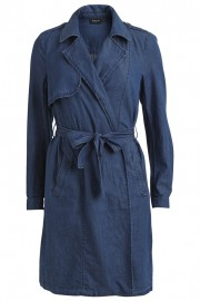 14032305 VISASSIT DENIM COAT DarkBlueDenim Front High