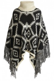 vierika knit poncho high