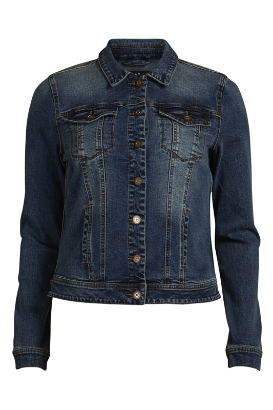14032988 VIPER DENIM JACKET MB MediumBlueDenim Front high