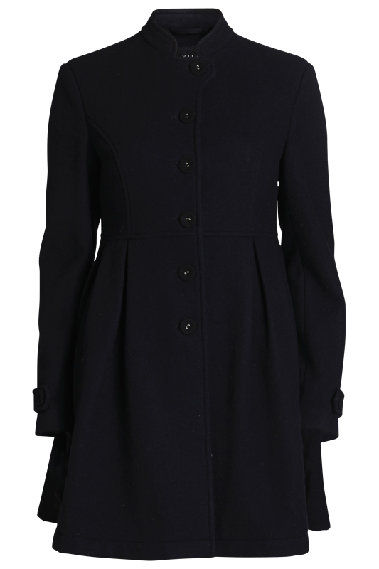 vimmie coat black high